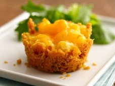 Mini Mac-and-Cheese Cakes